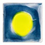 Handmade застекленная керамическая плитка Стоковое Фото