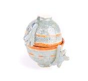 2 handmade залакированных чашки Стоковые Изображения