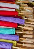 handmade зонтик Таиланда Стоковое Изображение