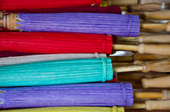 handmade зонтик Таиланда Стоковое фото RF