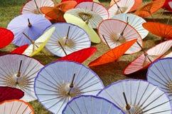 handmade зонтик Таиланда Стоковые Фото