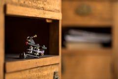 handmade изолированная белизна машины используемая tattoo Стоковая Фотография