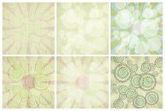 handmade изолированный комплект бумаги lightbursts Стоковые Фото