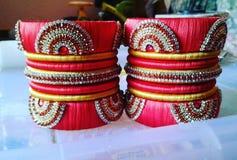 Handmade индийские традиционные bangles стоковые изображения