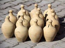 Handmade керамическая глина Стоковое Изображение