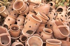 Handmade керамическая глина Стоковое Фото