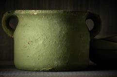Handmade керамический бак Стоковая Фотография