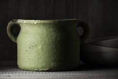Handmade керамический бак Стоковые Фото