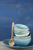 Handmade комплект посуды Стоковые Изображения