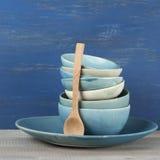 Handmade комплект посуды Стоковое фото RF