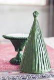 Handmade конус ритуалов от лист банана Стоковое Изображение RF