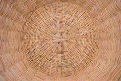 Handmade корзины плетеное тайское стоковое изображение rf