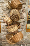 Handmade корзины wicker Стоковое фото RF