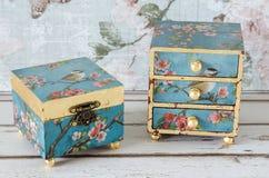 Handmade коробки побрякушки Стоковые Фото