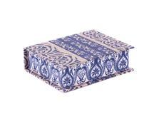Handmade коробки с материалами искусства для оформления Стоковые Фотографии RF