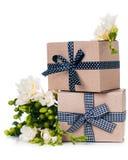 2 handmade коробки Стоковое Фото