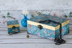 Handmade коробки Jewllery Стоковое Изображение