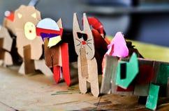 Handmade котята Стоковые Фото