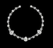 Handmade кристаллическое ожерелье Стоковые Изображения RF