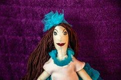 Handmade кукла Стоковое фото RF