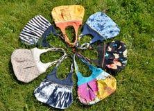 Handmade мешки Стоковые Изображения RF