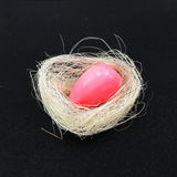 Handmade мыло в гнезде птицы Стоковые Изображения