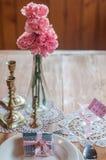 Handmade мыло угля на свадебный подарок Стоковые Изображения