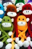 Handmade, обезьяна, счастливый Новый Год 2016, смешное животное Стоковые Фотографии RF