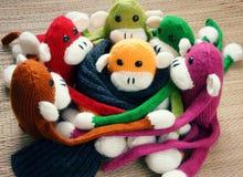 Handmade, обезьяна, счастливый Новый Год 2016, смешное животное Стоковое Фото