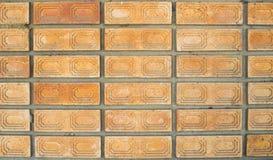 Handmade обои кирпича Стоковое Фото