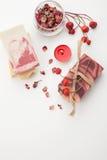 Handmade органическое мыло Стоковое фото RF