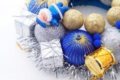 Handmade орнамент Нового Года Стоковые Фотографии RF