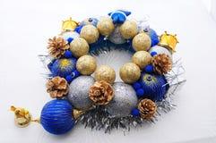 Handmade орнамент Нового Года Стоковая Фотография RF
