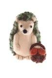 Handmade отец игрушки hedgehog Стоковые Фотографии RF