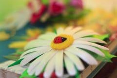 Handmade от лент сатинировки Стоковая Фотография