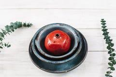 Handmade оформление дома гончарни на белой предпосылке Стоковое фото RF