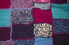 Handmade одеяло заплатки стоковое изображение