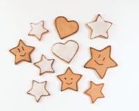 Handmade печенья стоковое фото