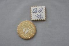 Handmade печенья Стоковая Фотография