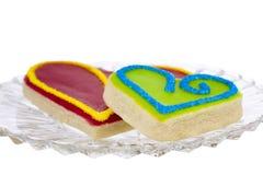 Handmade печенья Shortbread Стоковые Фотографии RF