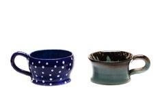 Handmade покрашенная чашка стоковая фотография