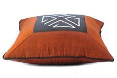 Handmade подушка с этнической вышивкой Стоковое фото RF