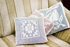 Handmade подушки Стоковые Изображения RF