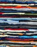Handmade предпосылка текстуры половика заплатки Стоковая Фотография RF