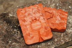 Handmade процесс ювелира, изготовление украшений Стоковая Фотография