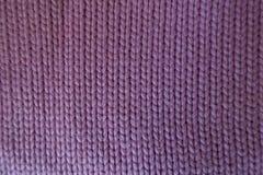 Handmade розовая простая ткань stockinette сверху Стоковые Изображения RF