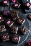 Handmade роскошный шоколад Стоковая Фотография RF