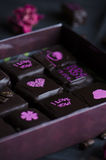 Handmade роскошный шоколад Стоковые Фото