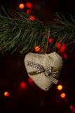 Handmade сердца валентинки Стоковые Изображения