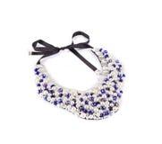 Handmade сияющее ожерелье Стоковое фото RF